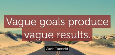 Vague Goals